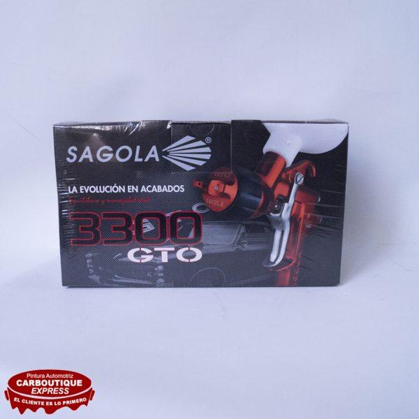 Pistola Acabados 3300 GTO 1.4'' Carboutique Online Santiago